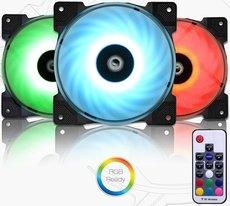 Вентилятор для корпуса ID-COOLING DF-12025-RGB-TRIO
