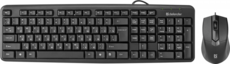 Клавиатура + мышь Defender Dakota C-270 Black