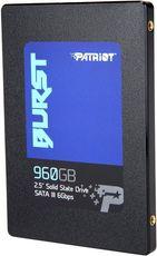 Твердотельный накопитель 960Gb SSD Patriot Burst (PBU960GS25SSDR)