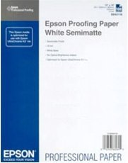 Бумага Epson Proofing Paper White Semimatte (C13S042118)