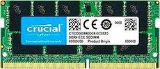Оперативная память 16Gb DDR4 SO-DIMM 2666MHz Crucial ECC (CT16G4TFD8266)