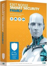ESET NOD32 Smart Security Family (NOD32-ESM-RN(BOX)-1-3)