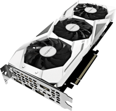 Видеокарта nVidia GeForce RTX2070 Gigabyte PCI-E 8192Mb (GV-N2070GAMINGOC WHITE-8GC)