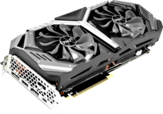 Видеокарта nVidia GeForce RTX2070 Palit GameRock PCI-E 8192Mb (NE62070U20P2)