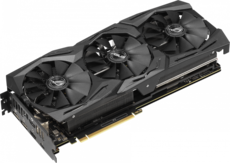 Видеокарта nVidia GeForce RTX2070 ASUS PCI-E 8192Mb (ROG-STRIX-RTX2070-A8G-GAMING)