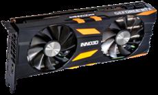 Видеокарта nVidia GeForce RTX2070 Inno3D X2 OC PCI-E 8192Mb (N20702-08D6X-2511683)