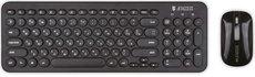 Клавиатура + мышь Jet.A SlimLine KM30 W Black