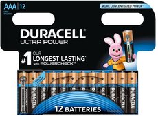 Батарейка Duracell Ultra Power (AAA, 12 шт)