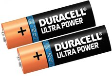 Батарейка Duracell Ultra Power (AA, 2 шт)