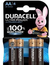 Батарейка Duracell Ultra Power (AA, 4 шт)