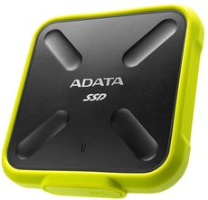 Твердотельный накопитель 256Gb SSD ADATA SD700 Yellow (ASD700-256GU31-CYL)