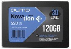 Твердотельный накопитель 120Gb SSD QUMO Novation 3D (Q3DT-120GPBN) OEM