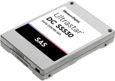 Жесткий диск 400Gb SAS HGST (Hitachi) Ultrastar SS530 SSD (0B40357)