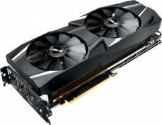Видеокарта nVidia GeForce RTX2070 ASUS PCI-E 8192Mb (DUAL-RTX2070-8G)