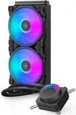 Система водного охлаждения PCcooler GI-AH240U HALO RGB