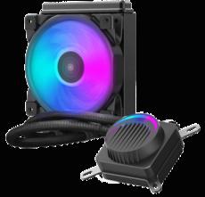 Система водного охлаждения PCcooler GI-AH120U HALO RGB