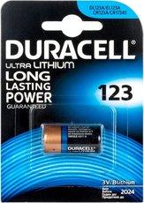 Батарейка Duracell Ultra (CR123, 1 шт)