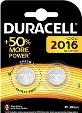 Батарейка Duracell (CR2016, Lithium, 2 шт)