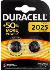 Батарейка Duracell (CR2025, Lithium, 2 шт)