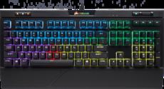 Клавиатура Corsair STRAFE RGB MK.2 Cherry MX Silent (CH-9104113-RU)