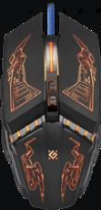Мышь Defender Halo Z GM-430L Black (52430)