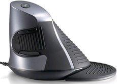 Вертикальная мышь Delux KM-618BU