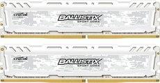 Оперативная память 16Gb DDR4 2400MHz Crucial Ballistix Sport LT White (BLS2K8G4D240FSCK) (2x8Gb KIT)