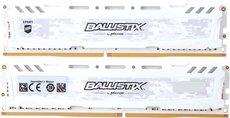 Оперативная память 16Gb DDR4 2666MHz Crucial Ballistix Sport LT White (BLS2K8G4D26BFSCK) (2x8Gb KIT)
