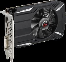Видеокарта AMD (ATI) Radeon RX 550 ASRock PCI-E 2048Mb (PHANTOM G R RX550 2G)