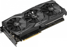Видеокарта nVidia GeForce RTX2070 ASUS PCI-E 8192Mb (ROG-STRIX-RTX2070-8G-GAMING)