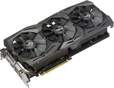 Видеокарта AMD (ATI) Radeon RX 580 ASUS PCI-E 8192Mb (ROG-STRIX-RX580-O8G-GAMING) OEM