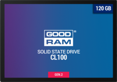 Твердотельный накопитель 120Gb SSD GOODRAM CL100 Gen.2 (SSDPR-CL100-120-G2)