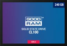 Твердотельный накопитель 240Gb SSD GOODRAM CL100 Gen.2 (SSDPR-CL100-240-G2)