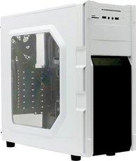 Корпус GameMax G535-CR White (Blue Led)