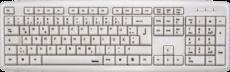 Клавиатура HAMA Verano White