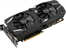 Видеокарта nVidia GeForce RTX2060 ASUS PCI-E 6144Mb (DUAL-RTX2060-A6G)