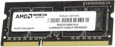 Оперативная память 2Gb DDR-III 1333Mhz AMD SO-DIMM (R332G1339S1S-U)