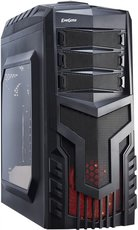 Корпус Exegate EVO-8204N Black/Red Light