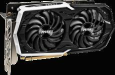 Видеокарта nVidia GeForce GTX1660 Ti MSI PCI-E 6144Mb (GTX 1660 TI ARMOR 6G OC)