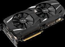 Видеокарта nVidia GeForce RTX2060 ASUS PCI-E 6144Mb (DUAL-RTX2060-6G)