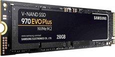 Твердотельный накопитель 250Gb SSD Samsung 970 EVO Plus Series (MZ-V7S250BW)