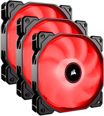 Вентиляторы Corsair AF120 LED (2018) Red Triple Pack [CO-9050083-WW]