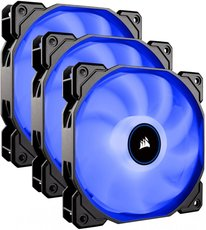 Вентиляторы Corsair AF120 LED (2018) Blue Triple Pack [CO-9050084-WW]