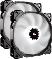Вентиляторы Corsair AF140 LED (2018) White Dual Pack [CO-9050088-WW]