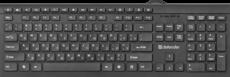 Клавиатура Defender Black Edition SB-550 Black