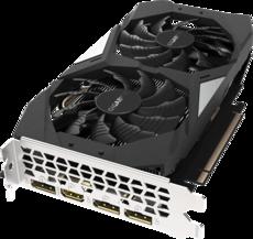 Видеокарта nVidia GeForce GTX1660 Gigabyte PCI-E 6144Mb (GV-N1660OC-6GD)