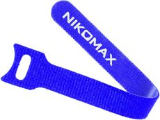Стяжка-липучка NIKOMAX NMC-CTV210-16-SB-BL-10
