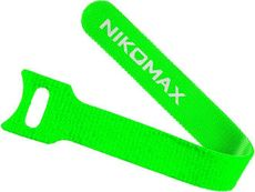 Стяжка-липучка NIKOMAX NMC-CTV240-16-SB-GN-10