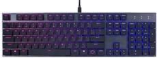 Клавиатура Cooler Master SK650 (Cherry MX Red Low Profile) (SK-650-GKLR1-RU)