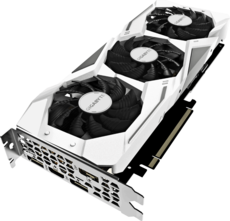 Видеокарта nVidia GeForce RTX2060 Gigabyte PCI-E 6144Mb (GV-N2060GAMINGOC PRO WHITE-6GD)